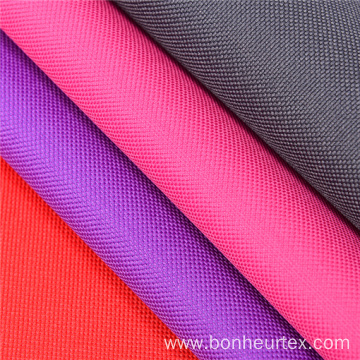 600D 100% Polyester Plain Oxford High Strength Fabric