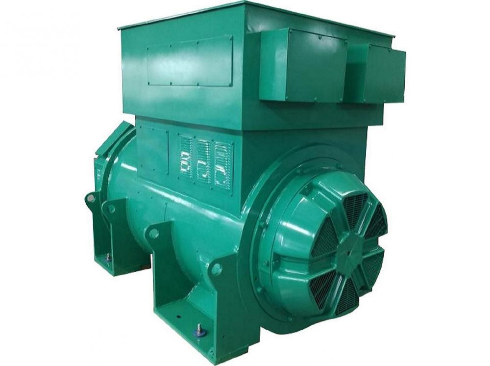 High Voltage Double Bearing Industrial Alternator