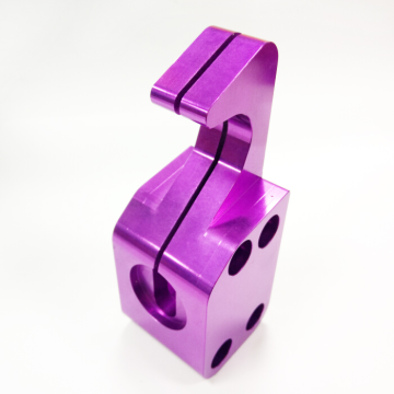 High Quality 5 Axis Color Anodizing Aluminum Parts