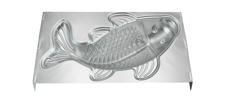 3D Fish Shape Aluminium Alloy Cake Pan01