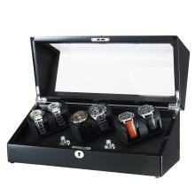 Black Wooden Watch Storage Winder