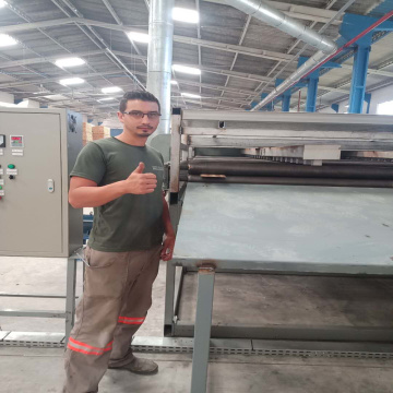 Jet Roller Type Veneer Dryer Operating System