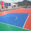 plastic tiles / outdoor basketball court
