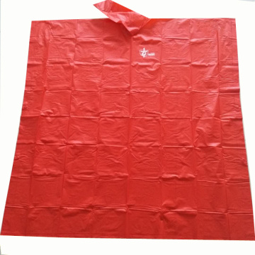 Promotional Eco-Friendly  Reusable PVC Poncho