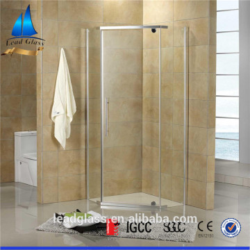 6mm Clear Frameless Shower Door Building Tempered Glass
