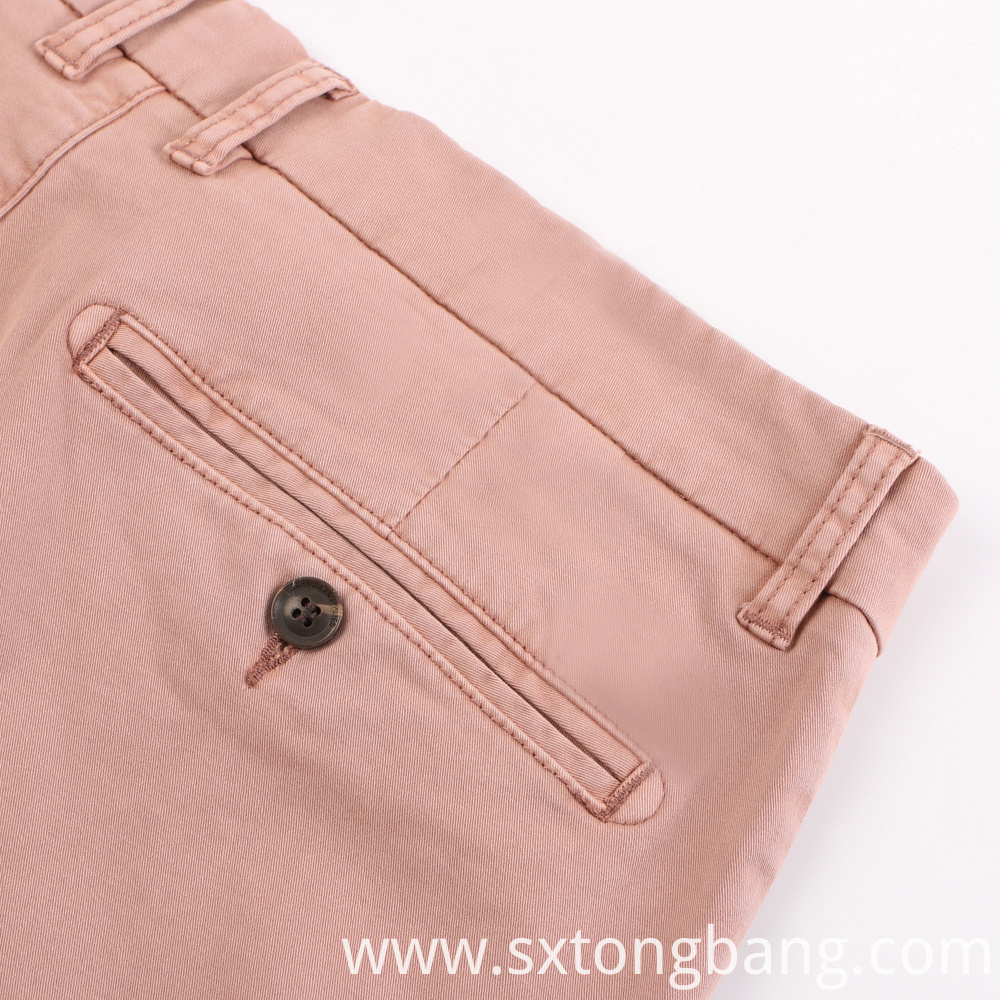 Casual Woven Fabric Pants