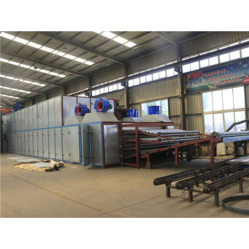 Higher Drying Capacity Veneer Dryer 4 Deck