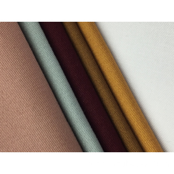 32s*21s Cotton Twill Brushed Solid Fabric