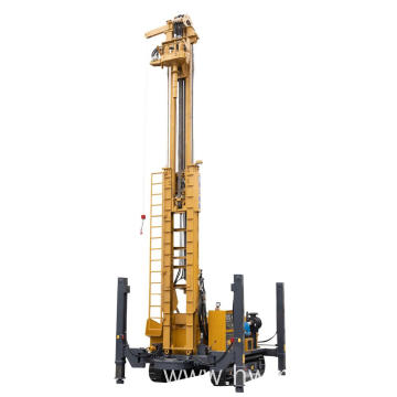 300 Meter Crawler Pneumatic Water Well Drilling Rig