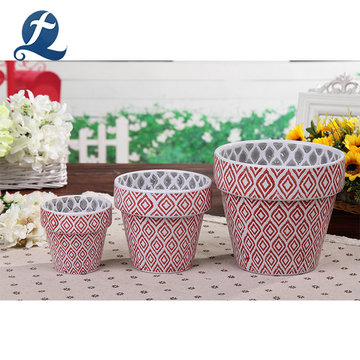 Top Selling Different Size Bulk Decorative Ceramic Garden Flower Pots