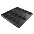 PS electronic packaging blister vacuum forming plastic tray