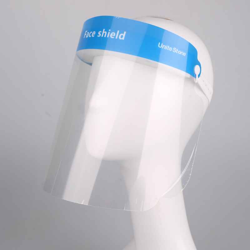 Replaceable Plastic Protective Film Face Shield