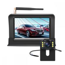 Telecamera di backup wireless con monitor per auto wireless da 4,3 ''