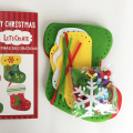 DIY Christmas stocking ornaments set