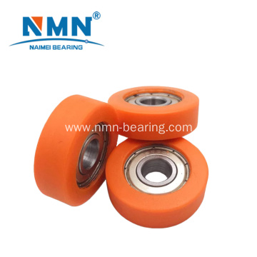 608zz plastic pulley wheel roller bearing for sliding door and window