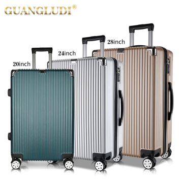 Custom any abs pc modern luggage set