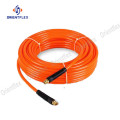High strength fiber PU braided straight hose