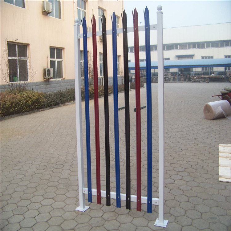 direct factory supply metal garden palisade fence