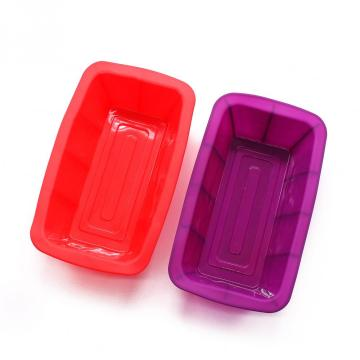 Orgrimmar 2 Packs Baking Silicone Rectangular Cake Pans