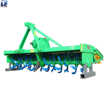 Gear driven 3-point linkage tractor pto rotary tillers