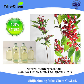 Wholesale 100% pure natural methyl wintergreen oil