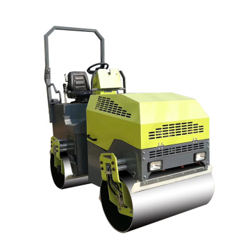 Best quality double drum ride-on road roller 2.6ton