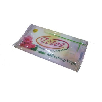 Single Restaurant Refreshing Wet Tissues Individual Pack