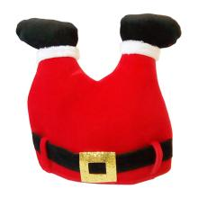 1pcs Creative Christmas Hat Red Pants Santa Claus Legs Cap For Adults Funny Xmas Party Hat Decoration A35