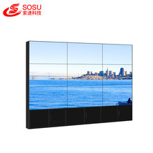 moldura ultra estreita samsung lcd video wall