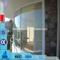 6mm 8mm 10mm Curved Tempered Glass Panel
