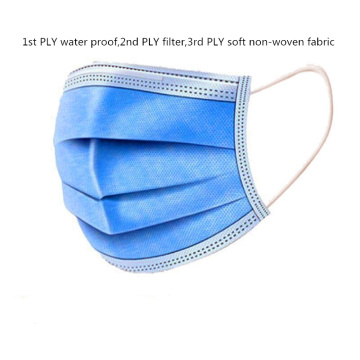 3 layer Surgical face Mask