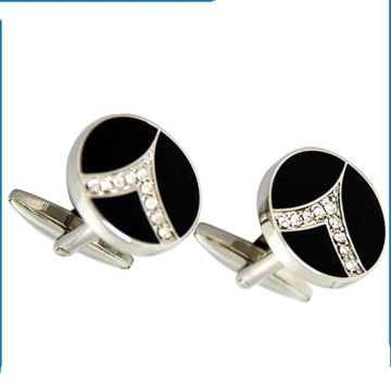 Antique Copper Cufflinks Gold Plated Fashion Women Style