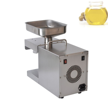 Stainless Steel Automatic Small Seed Oil Extractor Cold Sesame Oil Press Peanut Soybean Oil Press