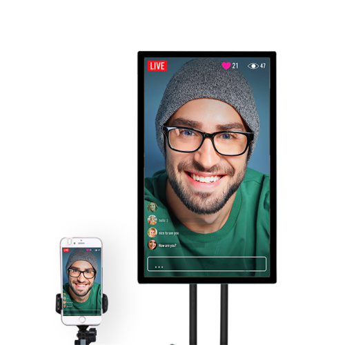 mobile live stream big size projection screen