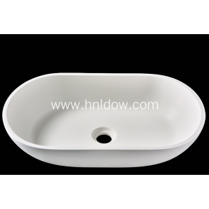 Pure Acrylic Artificial stone washbasin for bathroom