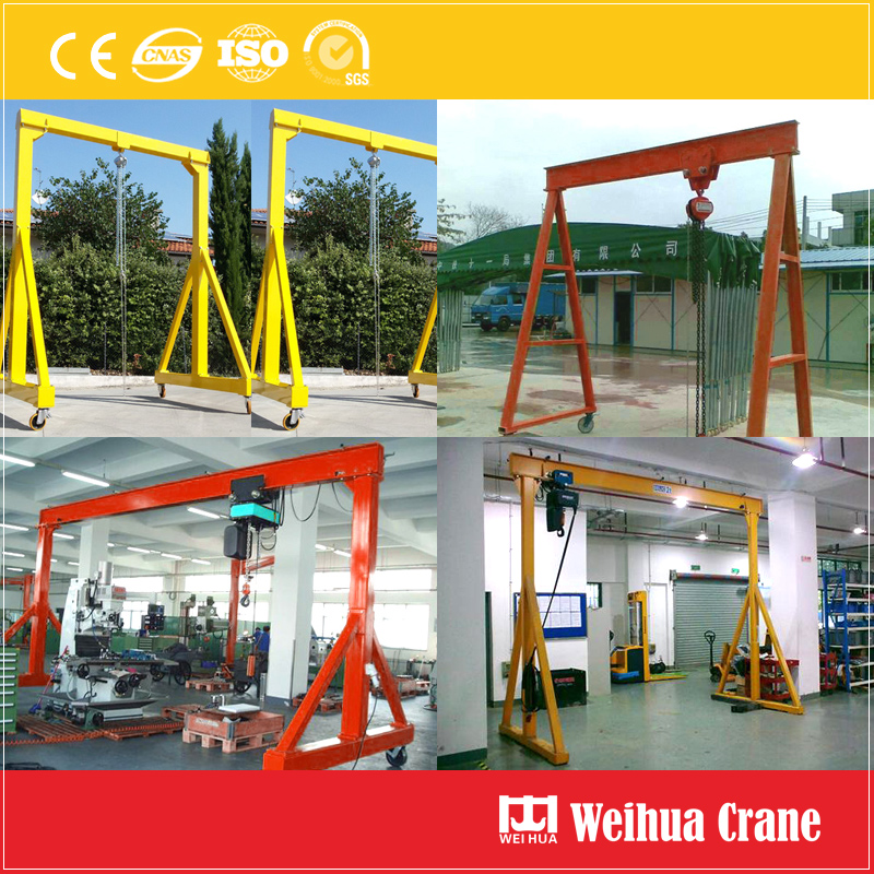 Light Portable Gantry Crane