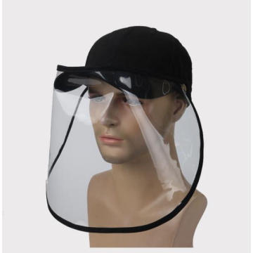 Against virus basketball cap protective faceshield mask
