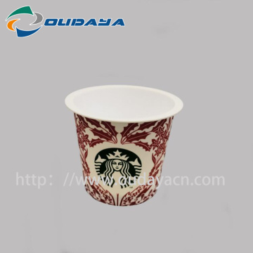 IML Customized Coffee Cup PP Yoghurt Container