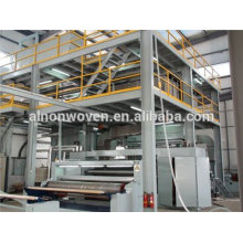 A.L 2017 newly design 1.6m S/SS/SMS PP nonwoven fabric making machine