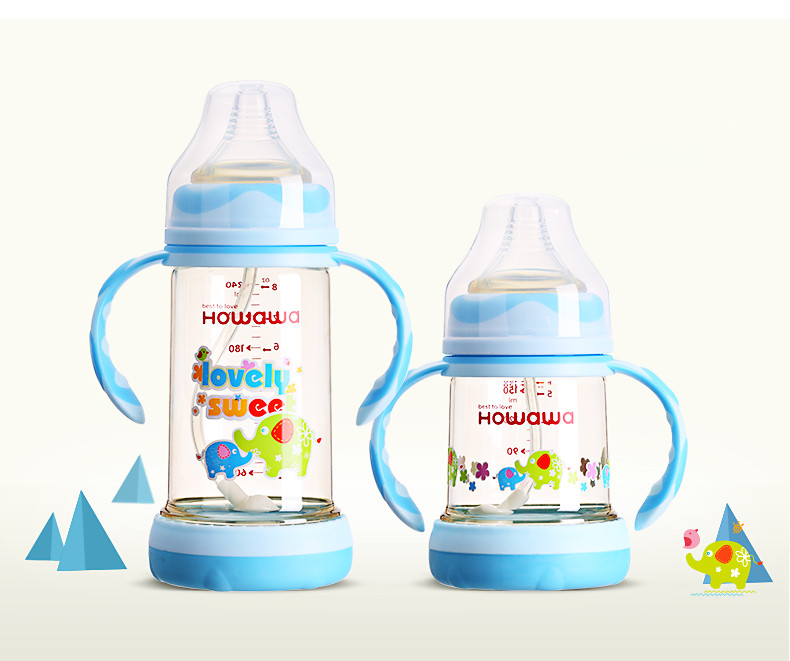 BPA Free Milk Bottle