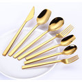 Eco-friendly Stainless Steel Restaurant Wedding Cutlery Set