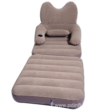 Foldable inflatable sofa bed