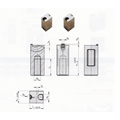 DAYUE Mold Standard Components Precision Gate Inserts Series