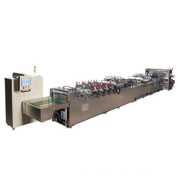 4 or center side pouch machinery