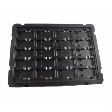 vacuum automation electronic black blister trays