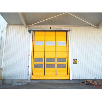 Automatic High Speed Fold-up Door PVC Stacking Door
