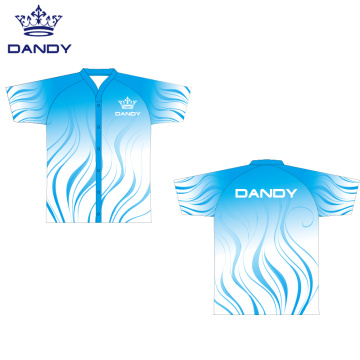 Sublimated mesh cheerleaders shirt