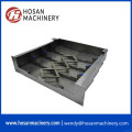 Stainless material  flexible accordion guide shield