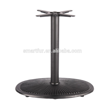 Heavy round shape metal table base