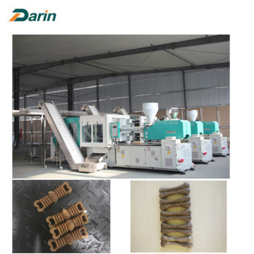 Raw material pet grinding stick mold injection machine